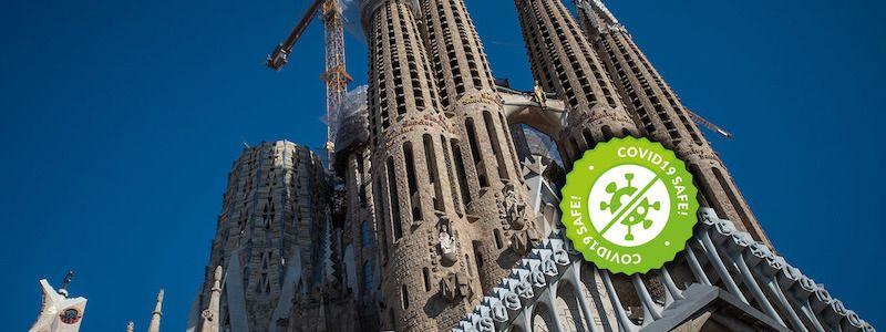 visite guidée façade Sagrada Familia