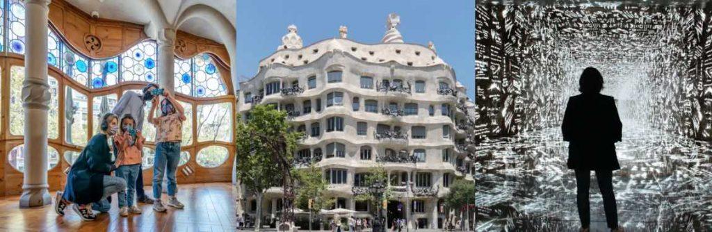 visite Casa Batlló et Casa Milà