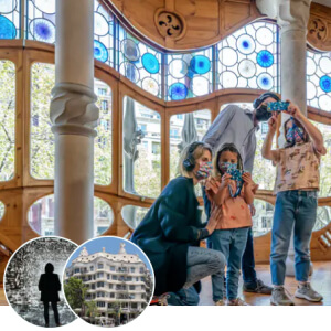 visite Casa Milà + Casa Batlló